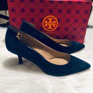 Tory Burch Elizabeth Pump 65mm Royal Navy NIB